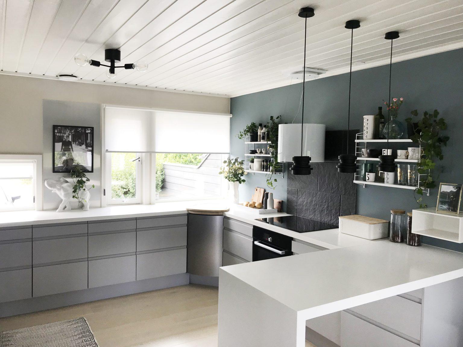 Utmerket Kjøkkenet vårt - Før & Etter - NetteNestea.com OO-43